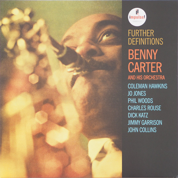 Benny Carter And His Orchestra Further Definitions Vinyl