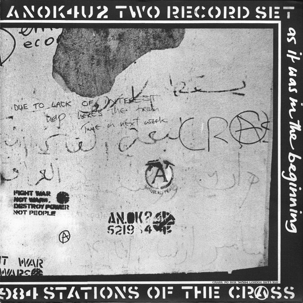 Crass Stations Of The Crass Vinyl