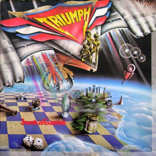 Triumph Just A Game Vinyl