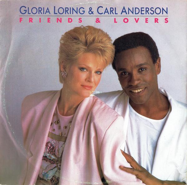 Gloria Loring & Carl Anderson Friends & Lovers Vinyl