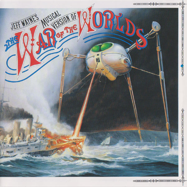 Jeff Wayne The War Of The Worlds CD