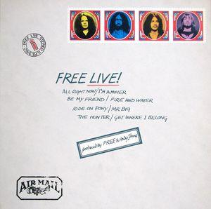 Free Free Live! Vinyl