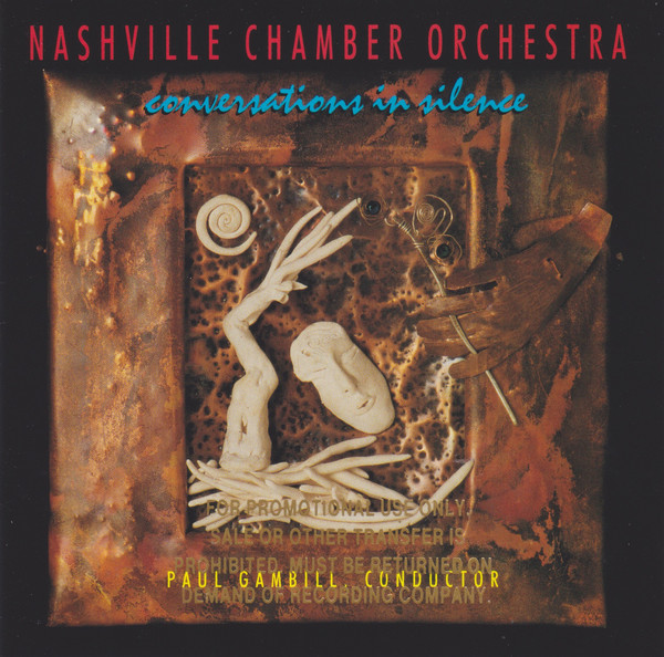 Nashville Chamber Orchestra Conversations In Silence CD