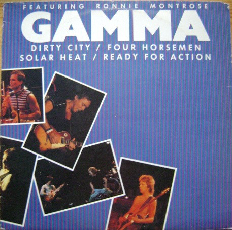 Gamma featuring Ronnie Montrose Dirty City Vinyl