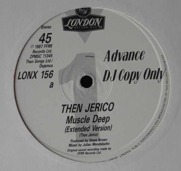 Then Jerico Muscle Deep