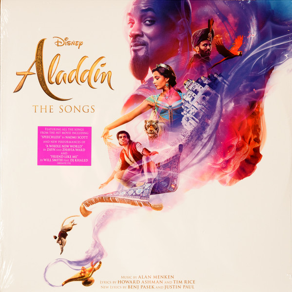 Various Disney's Aladdin The Songs  Vinyl