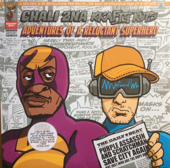Chali 2NA, Krafty Kuts Adventures Of A Reluctant Superhero Vinyl