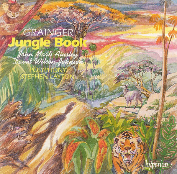 Grainger - John Mark Ainsley, David Wilson Johnson Jungle Book Vinyl