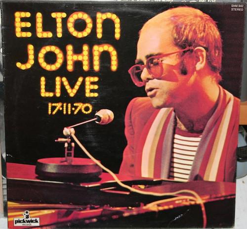 John, Elton Live 17-11-70