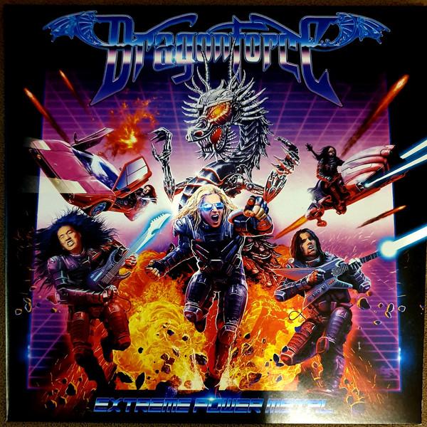 Dragonforce Extreme Power Metal Vinyl