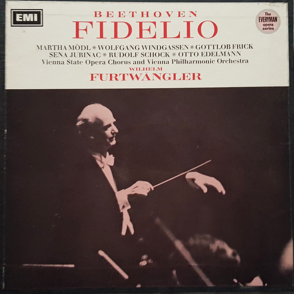 Beethoven - Modl, Windgassen, Frick, Jurinac, Schock, Edelmann, Wilhelm Furtwangler Fidelio Vinyl