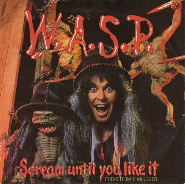 W.A.S.P. Scream Until You Like It Vinyl