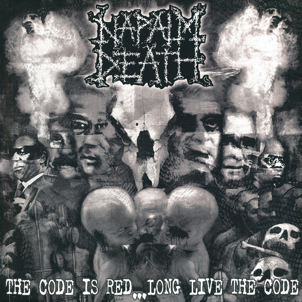 Napalm Death The Code Is Red... Long Live The Code Vinyl