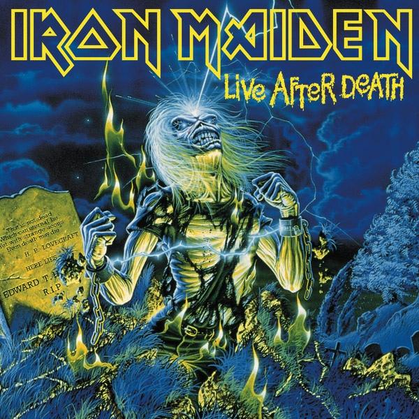 Iron Maiden Live After Death Vinyl