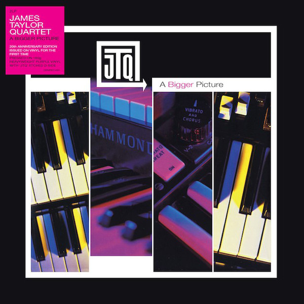 James Taylor Quartet A Bigger Picture Vinyl