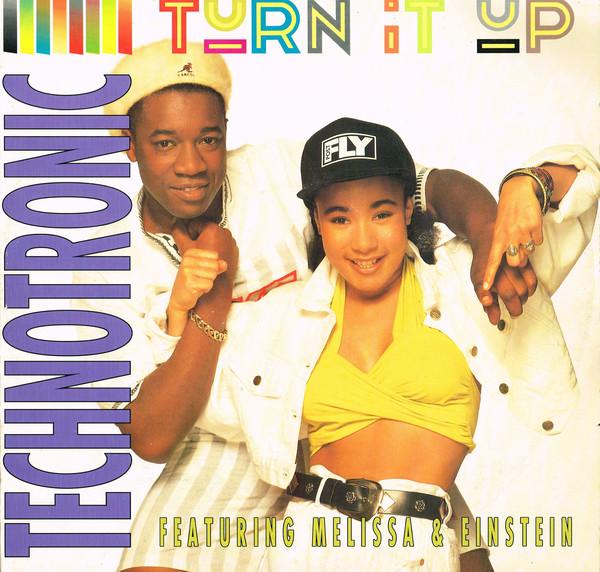 Technotronic Featuring Melissa & Einstein Turn It Up Vinyl