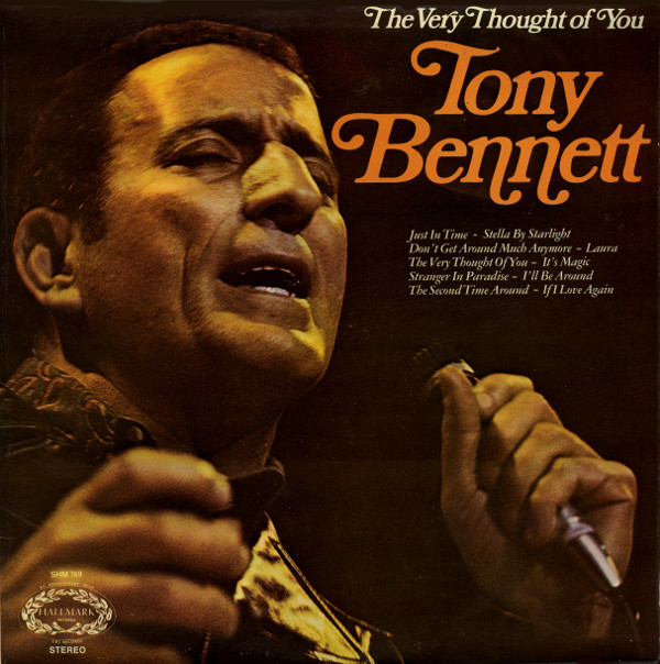 Bennett, Tony The Very Thought Of You Vinyl