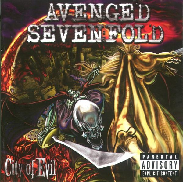 Avenged Sevenfold City Of Evil CD