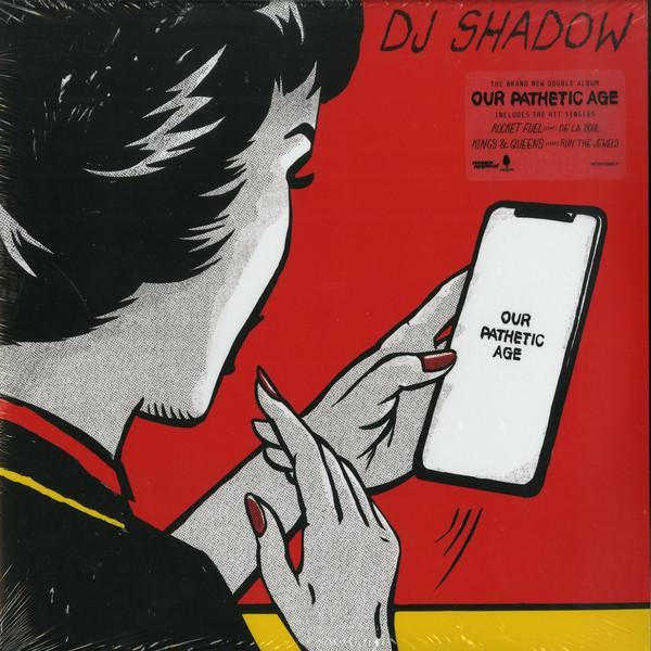DJ Shadow Our Pathetic Age Vinyl