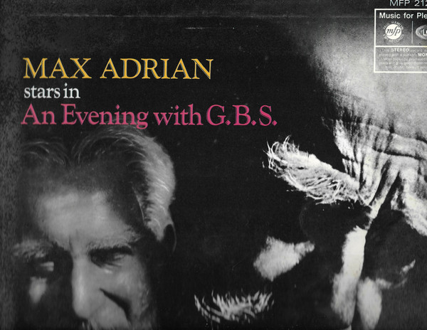 Max Adrian An Evening With G.B.S. - Part 1