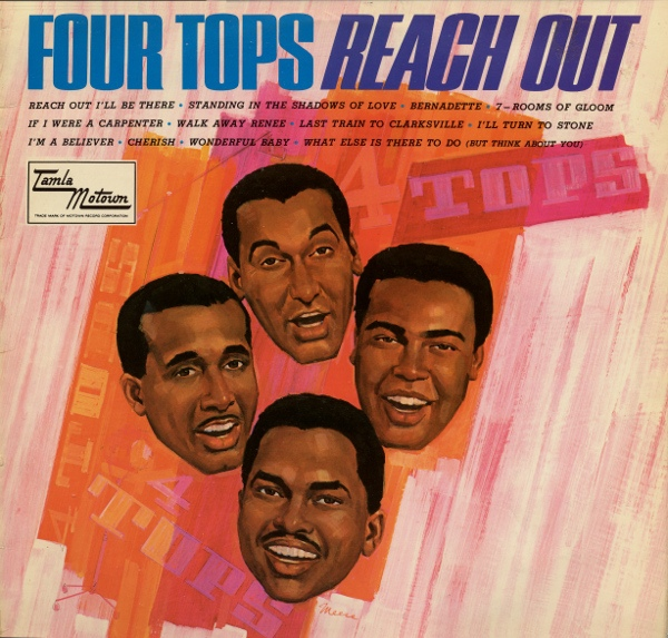 Four Tops Reach Out Vinyl