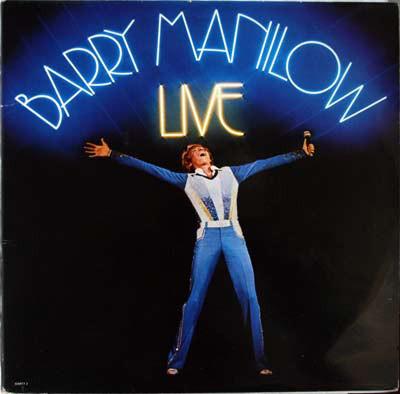 Manilow, Barry Live Vinyl