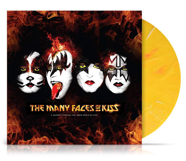 Kiss The Many Faces Of KISS: A Journey Through The Inner World Of KISS Vinyl