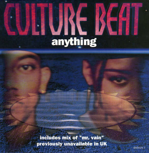 Culture Beat Anything Vinyl