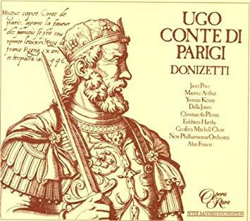 Donizetti - Price, Arthur, Kenny, Jones, du Plessis, Harrhy, Alun Francis Ugo Conte di Parigi Vinyl
