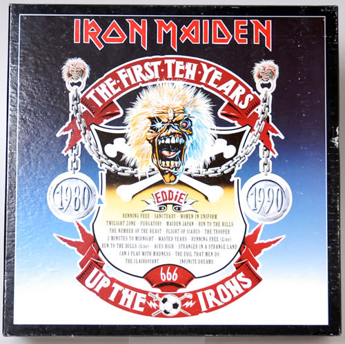 Iron Maiden The First Ten Years Up The Irons Vinyl