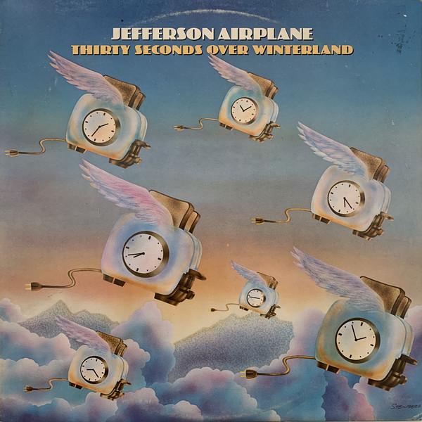 Jefferson Airplane Thirty Seconds Over Winterland Vinyl