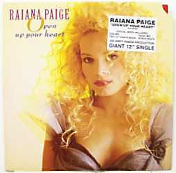 Paige, Raiana Open Up Your Heart Vinyl