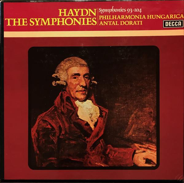 Haydn - Antal Dorati The Symphonies Vinyl