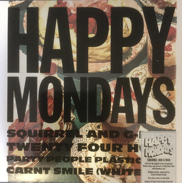 Happy Mondays Squirrel And G-Man Twenty Four Hour Party People Plastic Face Carnt Smile (White Out)  Vinyl