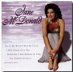 McDonald, Jane Jane McDonald CD