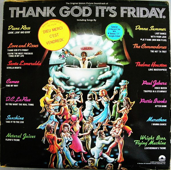 Various Thank God It's Friday (The Original Motion Picture Soundtrack) Vinyl
