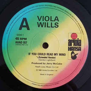 Viola Wills If You Could Read My Mind Vinyl