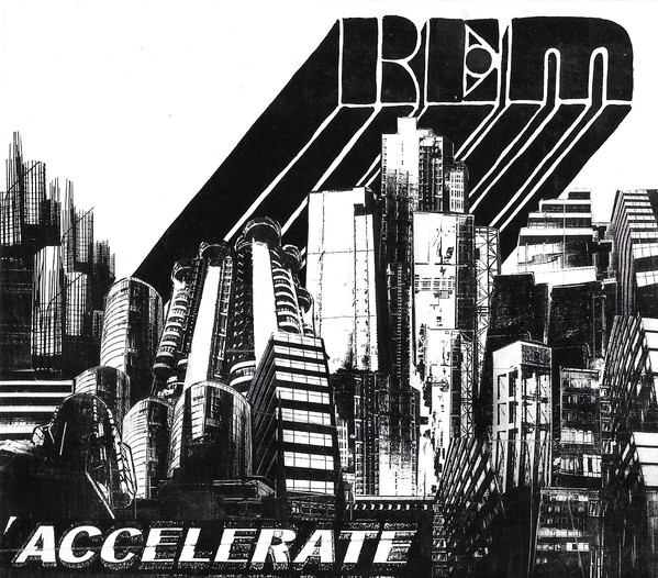 R.E.M Accelerate CD