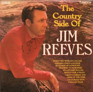 Reeves Jim The Country Side Of Jim Reeves Vinyl
