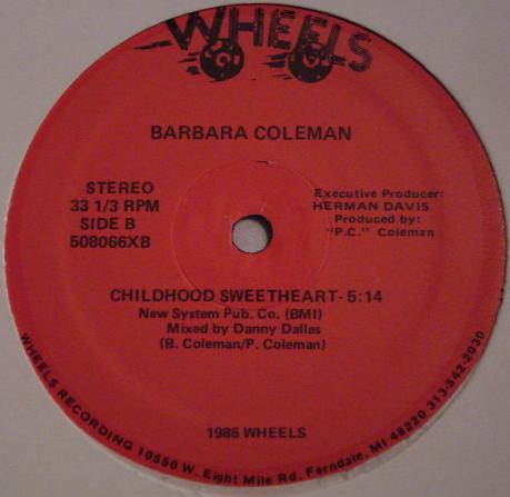 Coleman, Barbara Boyfriend