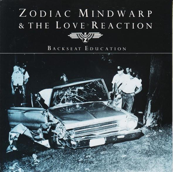 Zodiac Mindwarp & The Love Reaction Backseat Education Vinyl