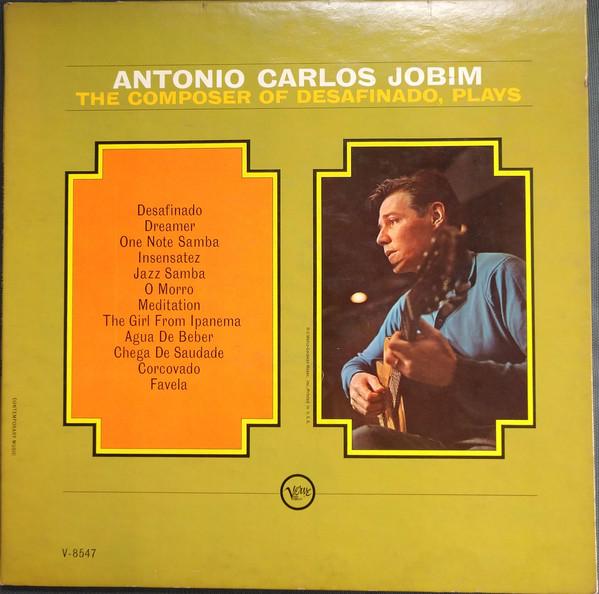 Antonio Carlos Jobim  The Composer Of Desafinado, Plays Vinyl
