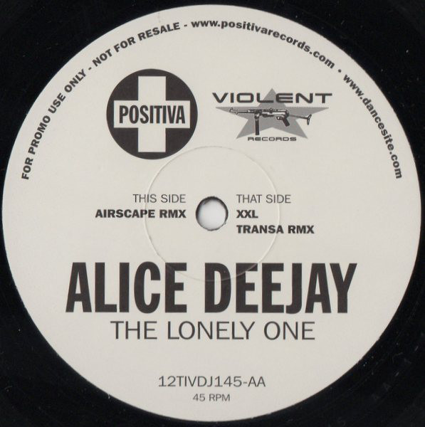 Alice Deejay The Lonely One