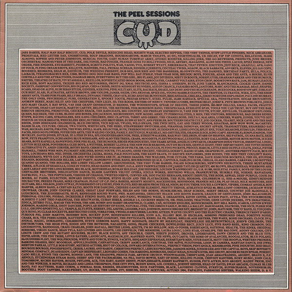 CUD The Peel Sessions Vinyl