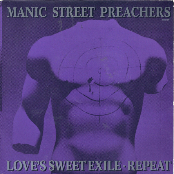 Manic Street Preachers Love's Sweet Exile / Repeat Vinyl