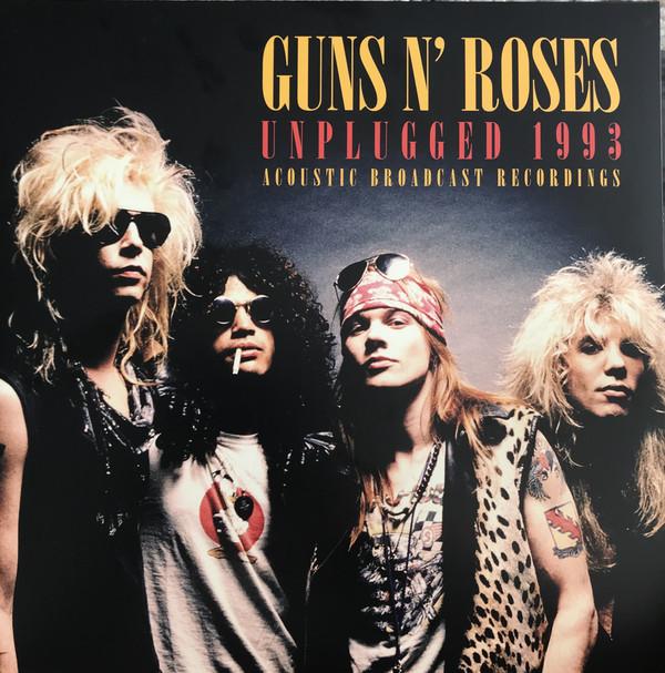 Guns N' Roses Unplugged 1993 Vinyl