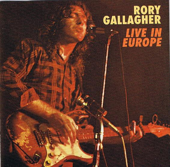 Gallagher, Rory Live In Europe CD