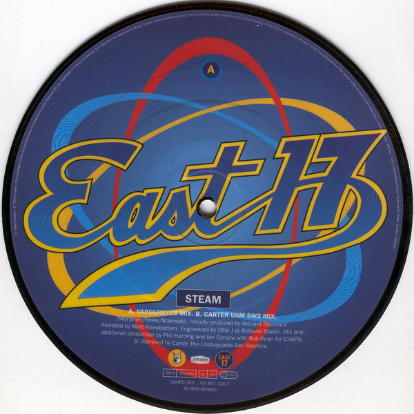 East 17 Steam Vinyl