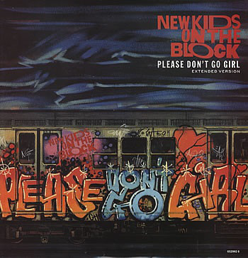 New Kids On The Block Please Don't Go Girl (Extended Version) Vinyl