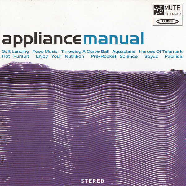 Appliance Manual CD